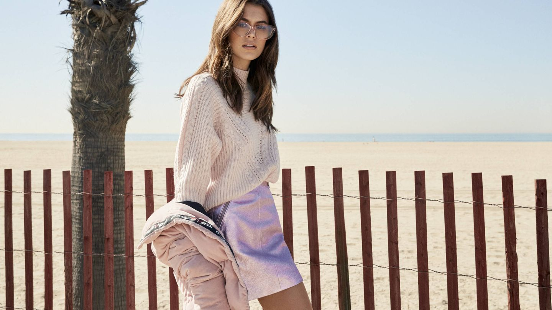 Kaia Gerber como imagen de la nueva campaña de la firma Karl Lagerfeld.  (Imagen: Bryant Eslava/Cortesía)