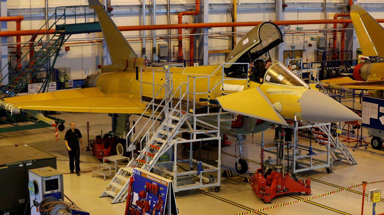 Eurofighter Typhoon. (Reuters)