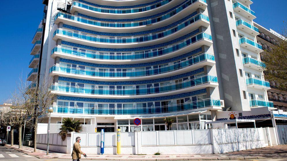 Foto: Hotel cerrado en Calella. (EFE)