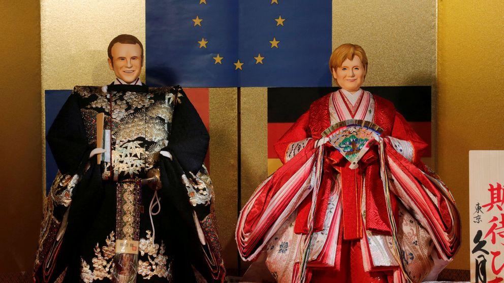 Llévese su propio Macron a casa: tazas, bolis y camisetas para restaurar el Elíseo
