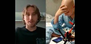 Post de La emocionante felicitación de Luka Modric a Raúl, un niño con cáncer