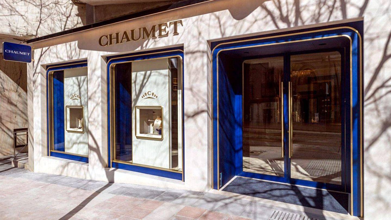 La fachada de la tienda de Chaumet en Madrid. (Cortesía)