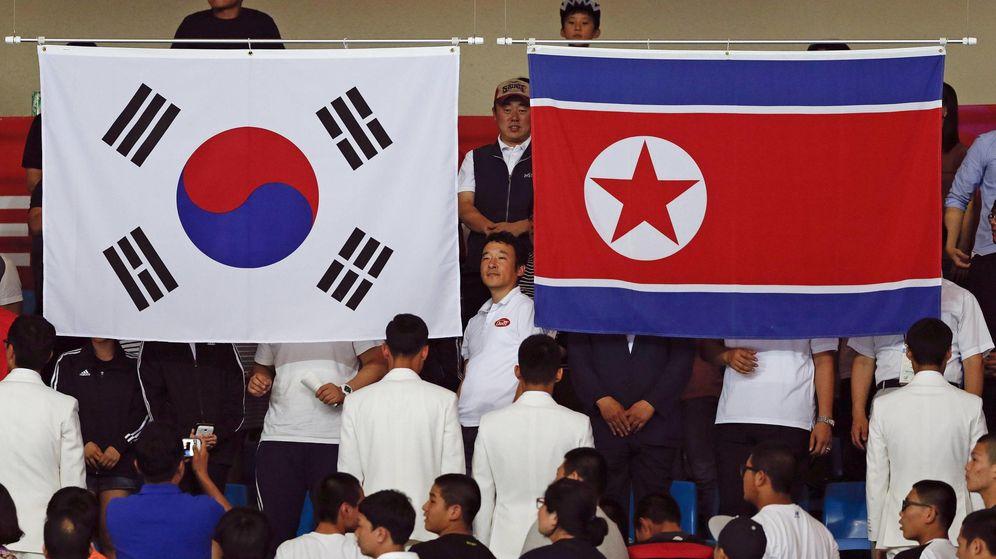 Resultado de imagen para coreas juegos olimpicos
