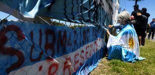 Post de Buscan al submarino argentino perdido a 950 metros de profundidad