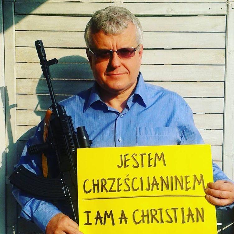 Foto: El pastor evangelista Pawel Chojecki, de la iglesia de la Nueva Alianza de Lublin (Foto: Facebook).