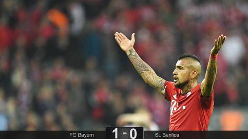 El Benfica pierde, pero hace sufrir al Bayern y da la razón a Guardiola