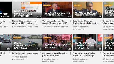 TVE lanza un canal de noticias en Youtube en plena crisis sanitaria