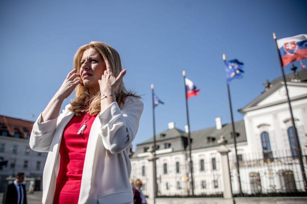 Foto: La europeísta Zuzana Caputova, ganadora de las elecciones presidenciales de Eslovaquia. (EFE)