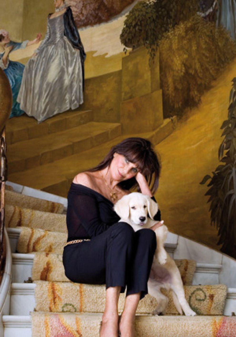"""Foto: Lita Trujillo: """"Anthony Quinn quería moldearme y poseerme"""""""