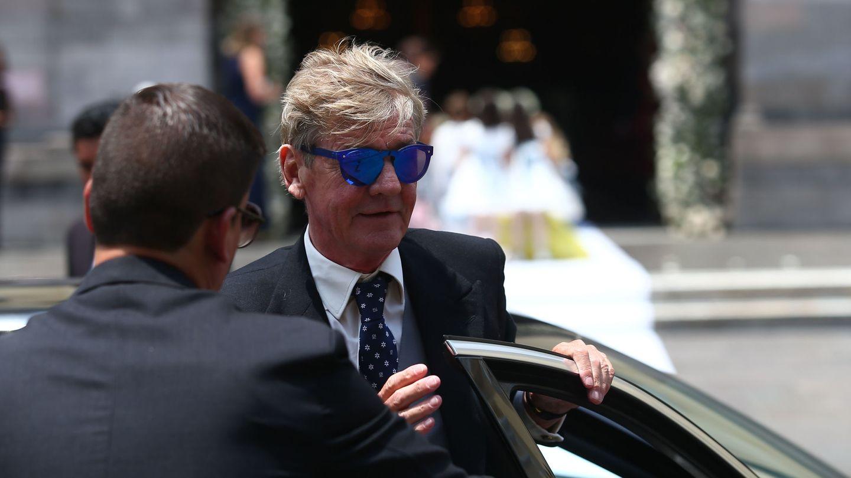 Ernesto de Hannover, en la boda de su hijo. (EFE)