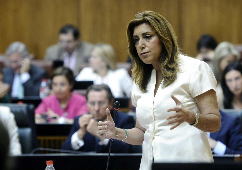 Foto: La presidenta de la Junta de Andalucía, Susana Díaz