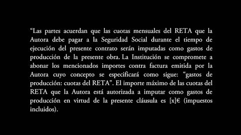 La cláusula Afrodita: el contrato que refleja el lado tenebroso del arte español