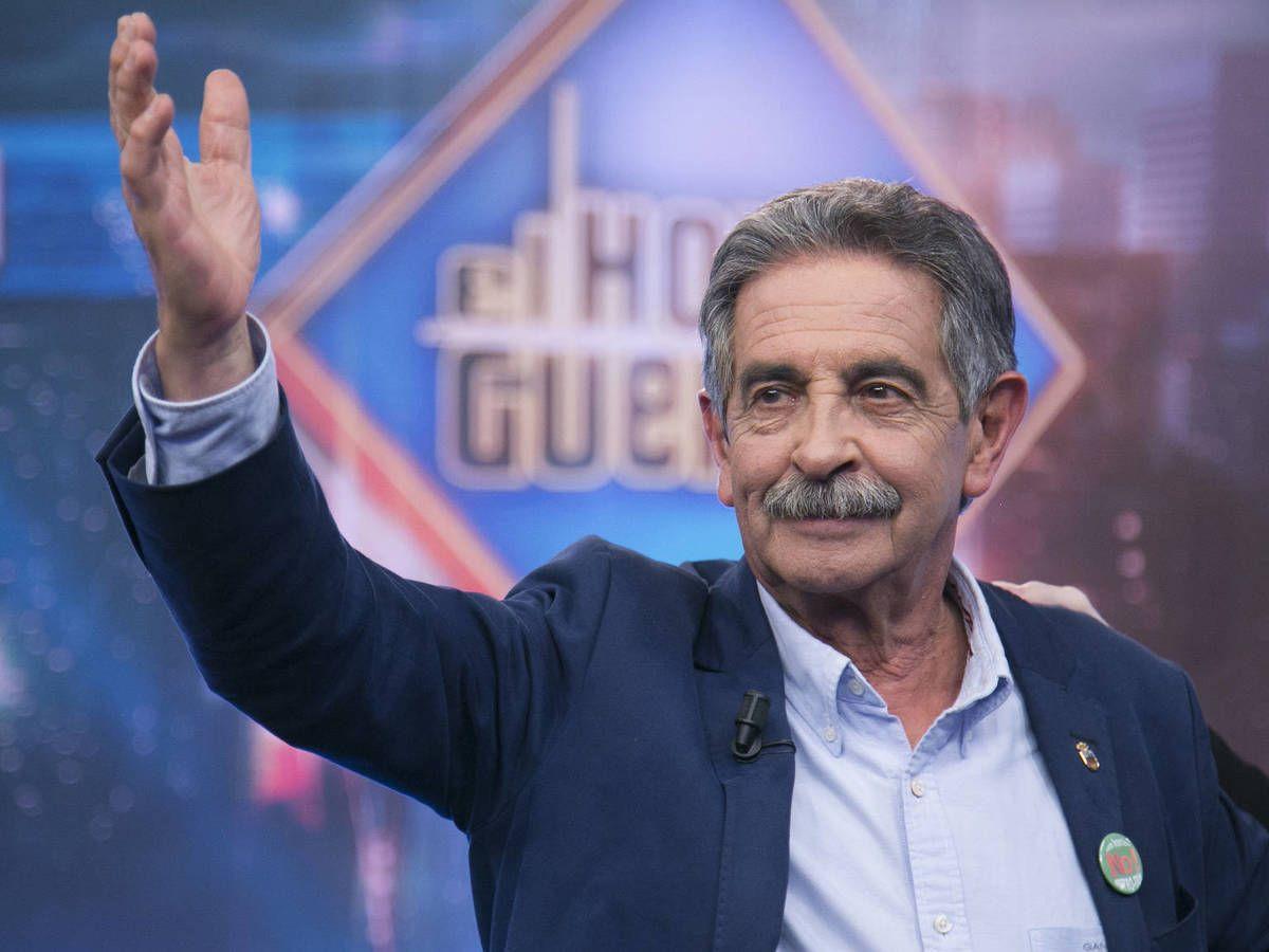 Foto: Miguel Ángel Revilla, en 'El hormiguero'. (Atresmedia)