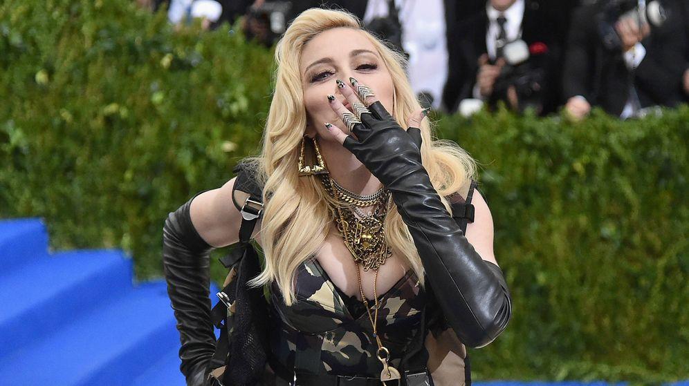 Foto: La cantante Madonna, fotografiada en Nueva York. (Getty)