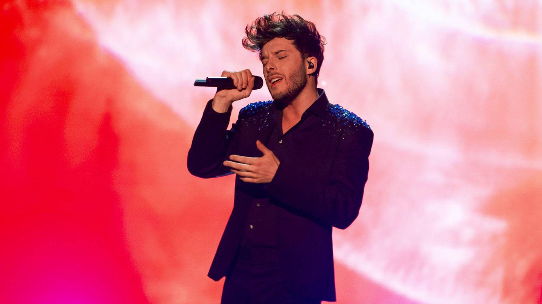 Blas Cantó, en 'Destino Eurovisión'. (TVE)