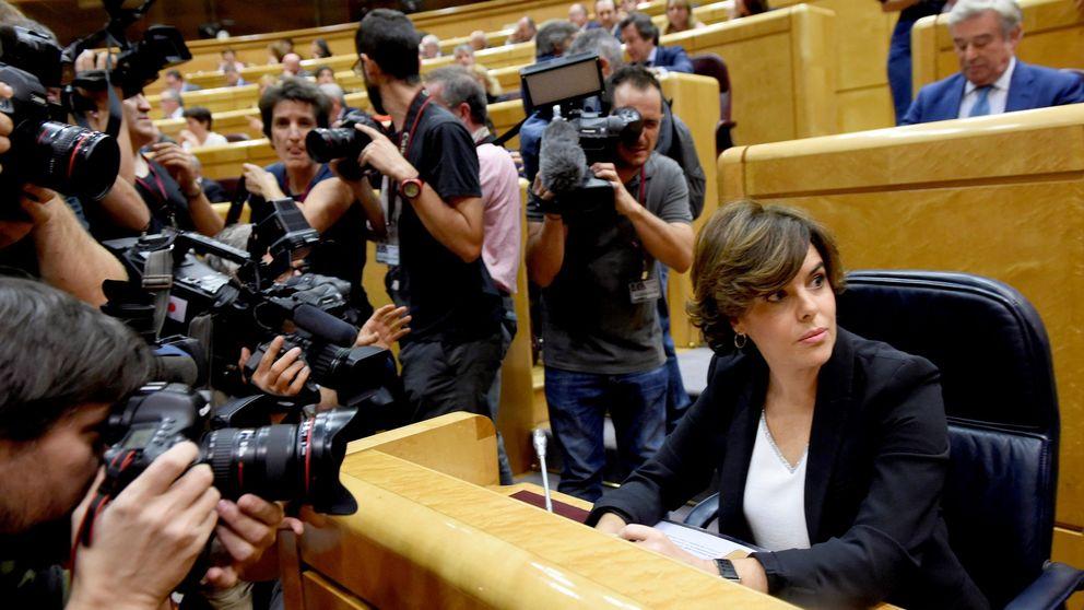 Discurso de Santamaría en el Senado sobre la aplicación del 155 en Cataluña