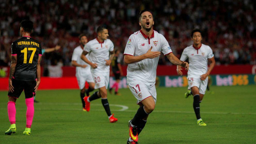 Expulsado de la galaxia del Real Madrid, Sampaoli pone en órbita a Pablo Sarabia