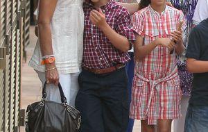 Froilán celebra su cumpleaños en el parador de Sigüenza con su abuela