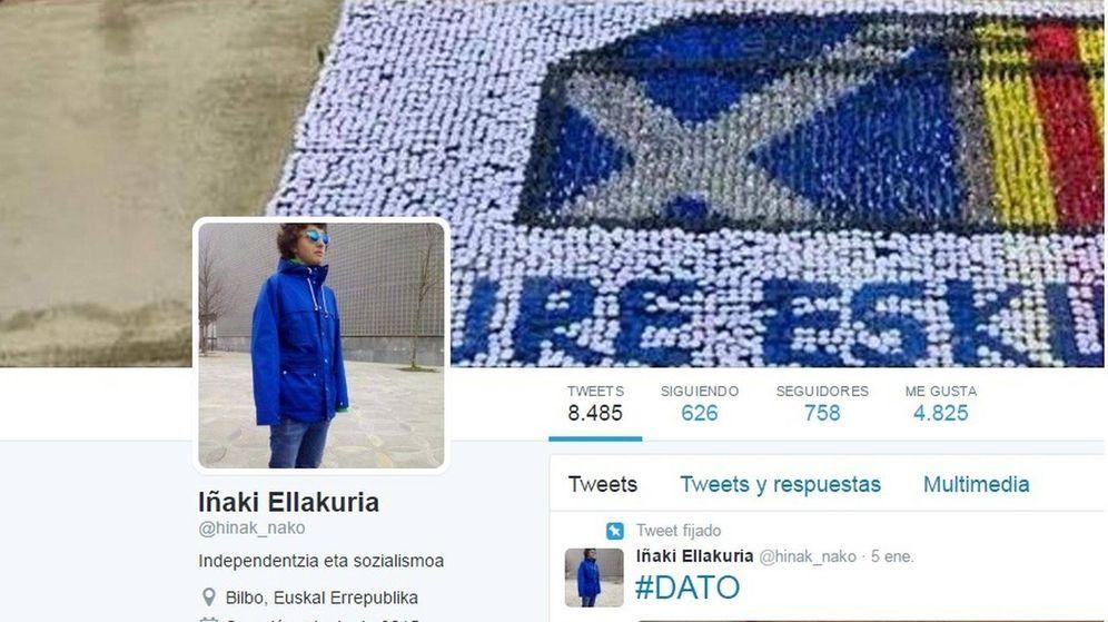 Foto: Perfil de twitter de Iñaki Ellakuria.