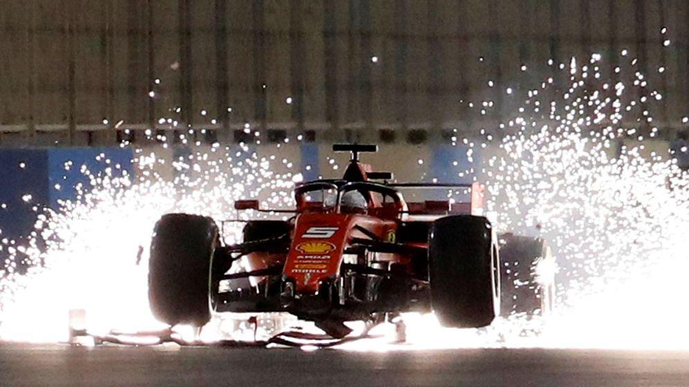 Foto: Vettel volvió a fallar con Ferrari. (Reuters)
