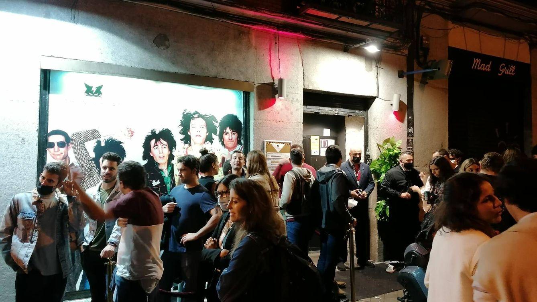 Foto: Los jóvenes no fallaron a su cita con la noche madrileña sin horarios.