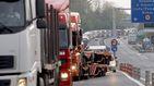 El peaje 'unilateral' a camiones en Guipúzcoa incendia el transporte de mercancías