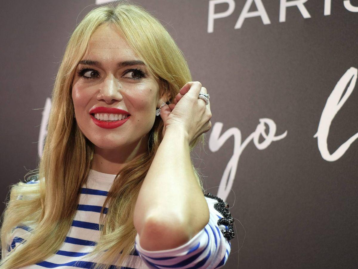 Foto: Patricia Conde, siempre fiel a su flequillo Bardot. (Cordon Press)