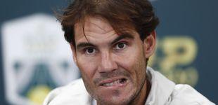 Post de La frustración de Nadal y la lesión que pone en peligro su cita con la Davis de Madrid