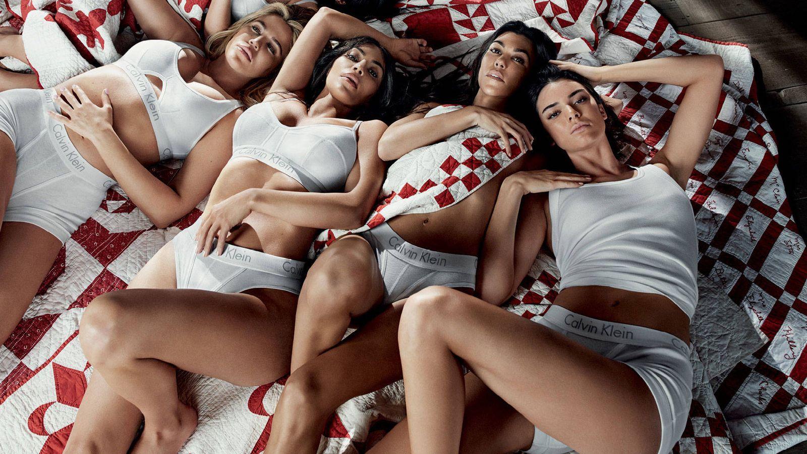 Foto: La lencería también es asunto de celebrities. (Foto: Calvin Klein)