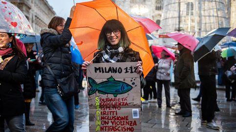 A Matteo Salvini se le rebelan las sardinas: La otra Italia se ha despertado