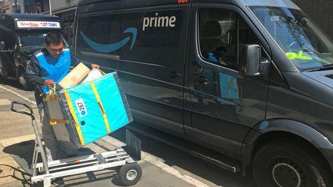 Deja su empleo en Amazon con el camión cargado de paquetes y las llaves puestas