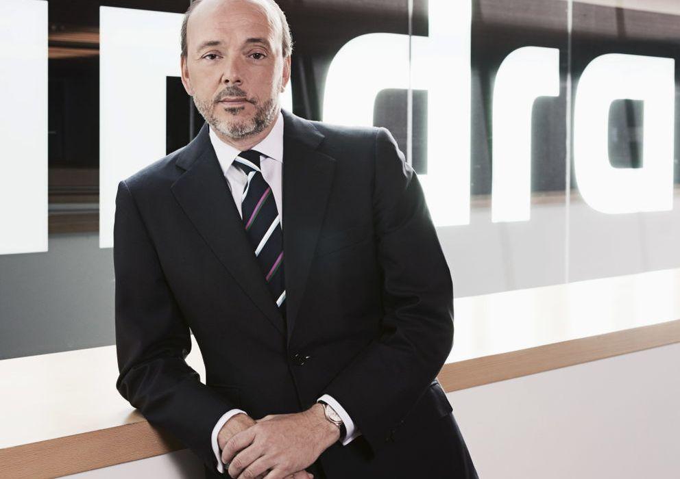 Foto: El presidente de Indra, Javier Monzón. (EFE)