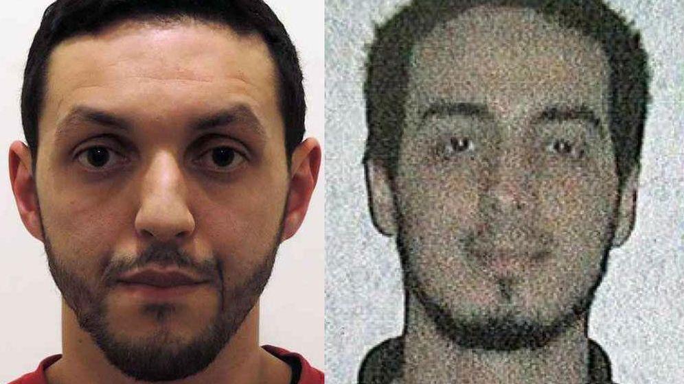 Foto: Mohamed Abrini y Najim Laachraoui, socios de Salah Abdeslam, buscados por la Policía belga.