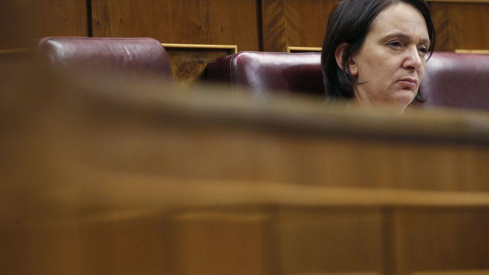 Foto: La diputada de Podemos Carolina Bescansa, al inicio este martes del pleno del Congreso de los Diputados. (EFE)
