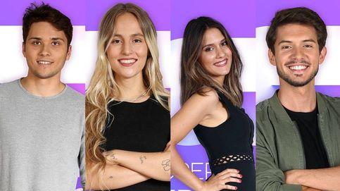 Damion, María, Sabela y Carlos Right, concursantes (por los pelos) de 'OT 2018'