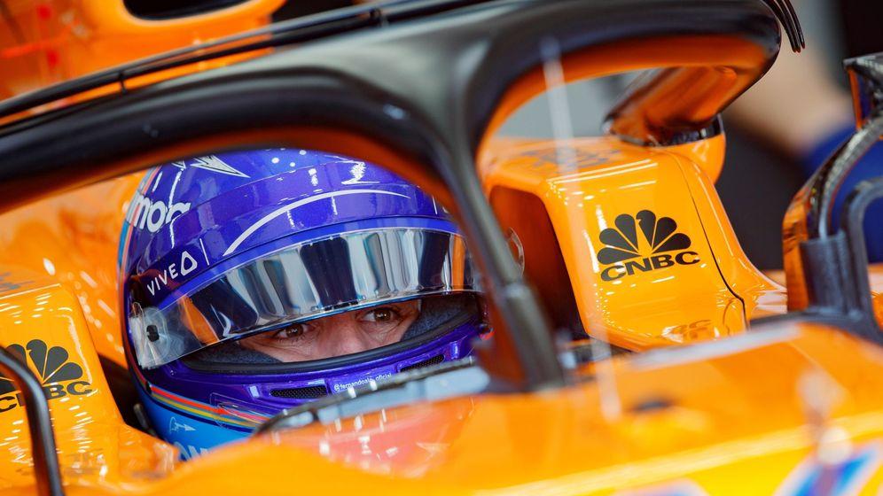 Foto: Fernando Alonso sigue confiando en McLaren y Renault para triunfar en la F1. (EFE)