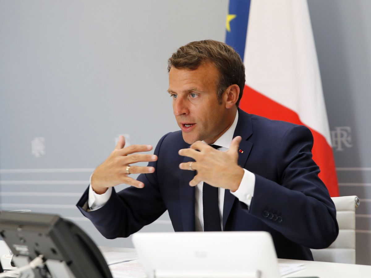 Foto: Emmanuel Macron (EFE)