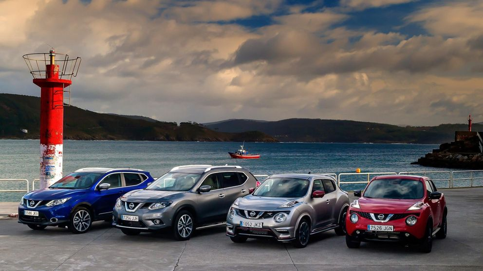 Nissan domina el segmento todocamino, el que más crece en España