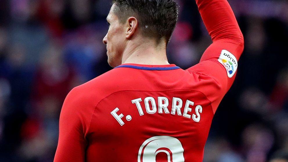 El último partido de Fernando Torres con el Atlético de Madrid