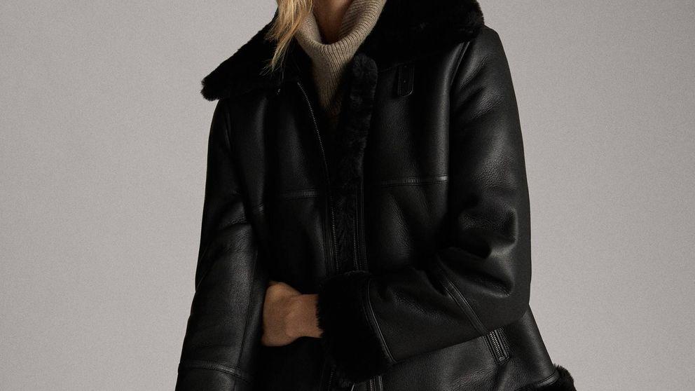 La nueva chaqueta negra de Massimo Dutti que durará años en tu armario