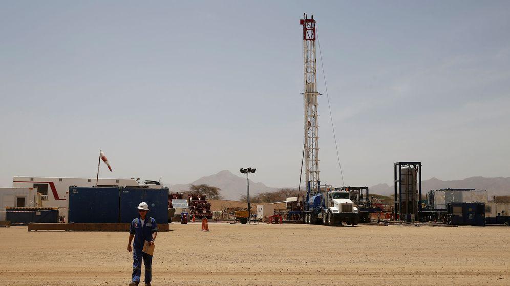 Foto: Campo de Tullow en Turkana (Reuters)