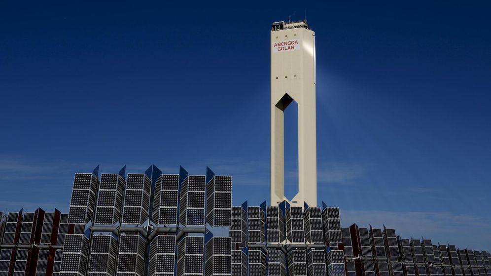 Foto: Instalación solar de la compañía Abengoa. (Reuters)
