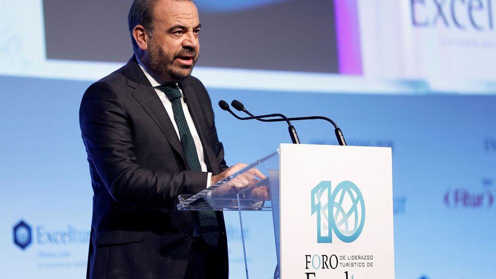 Foto: El presidente de Exceltur y presidente ejecutivo de Melia Hotels, Gabriel Escarrer. (EFE)