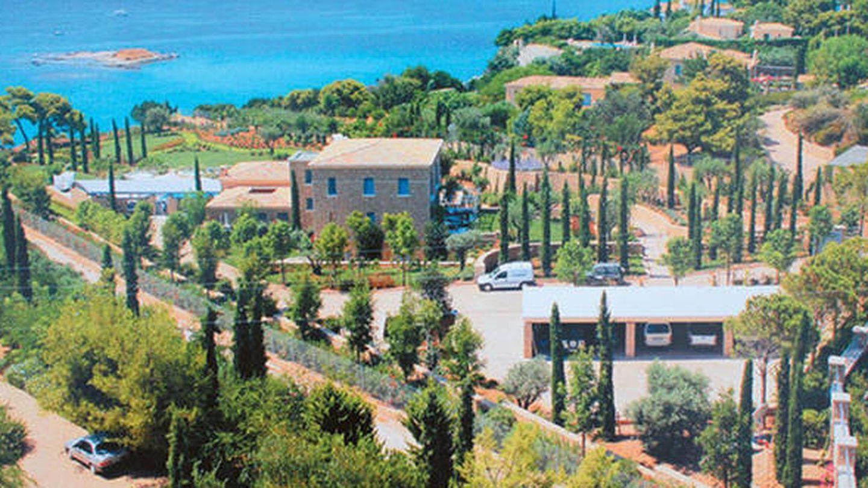 La casa de los reyes en Grecia.