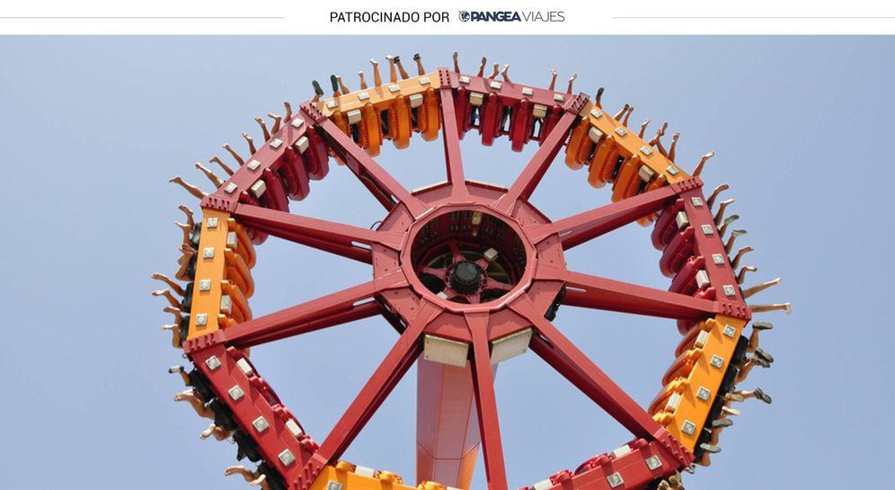 Foto: Una de las atracciones de Terra Mítica. (Shutterstock)