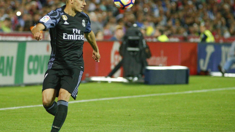 Nadie juega más partidos que Lucas Vázquez