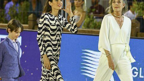 Carolina de Mónaco y Carlota Casiraghi, fin de semana de hípica en clave fashion