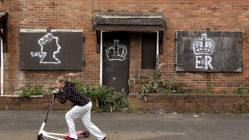 Foto: Un grafiti en Belfast. (Reuters)