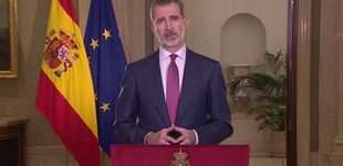 Post de El mensaje del rey Felipe VI por la crisis del coronavirus reunió a 14,6 millones