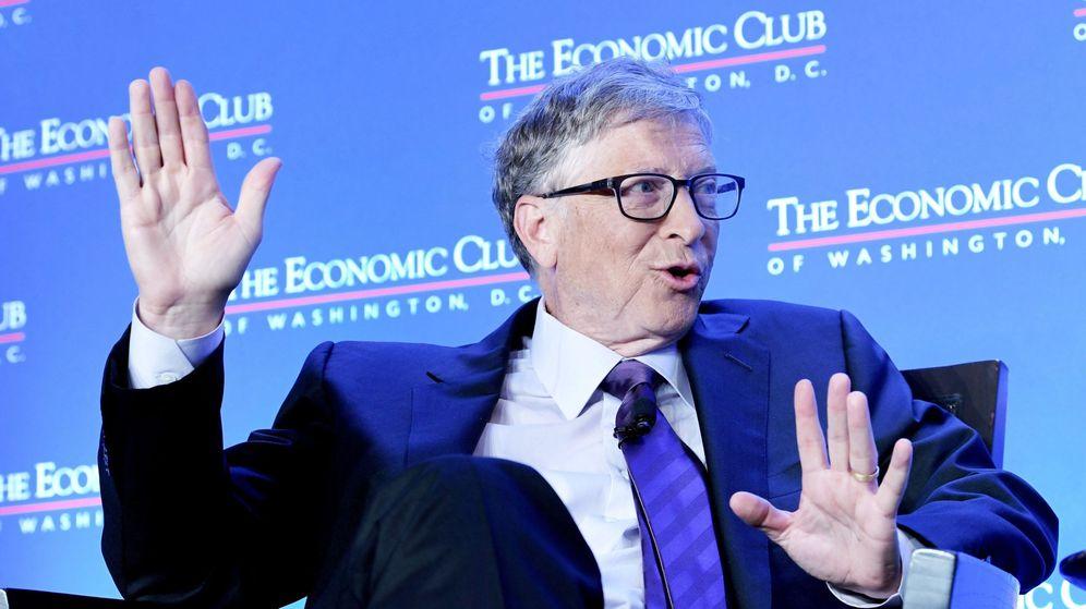 Foto: Bill Gates, en un acto en Washington. (Reuters)